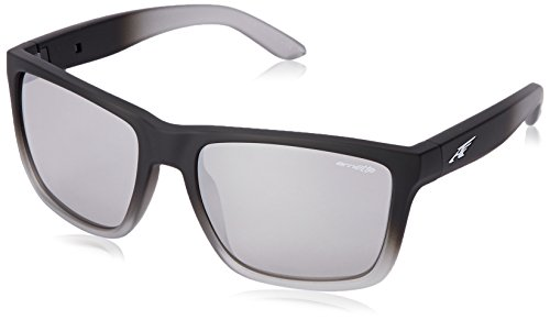 0f6ce48926f Arnette Unisex Witch Doctor Fuzzy Black Fade Chrome Mirror Sunglasses