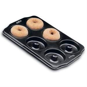 Nonstick Deluxe Donut Pan--Plus get a FREE Donut Mix!| Options| with Cherry Almond Donut Mix