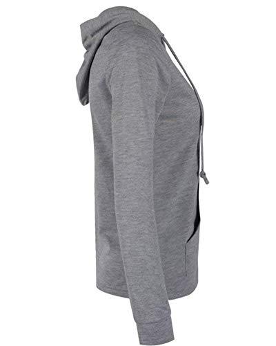 Vintage Outerwear Capuche Gaine Hiver Automne Unicolore Manteau clair Manches Sweat Schwarz Femme Poches Longues Costume Ferme A Coat Mode Fermeture Capuche lgant Casual xApw7nWPz