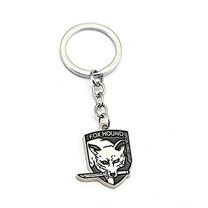 Amazon.com: Mct12 - Metal gear solid 5 Keychains Fox hound ...