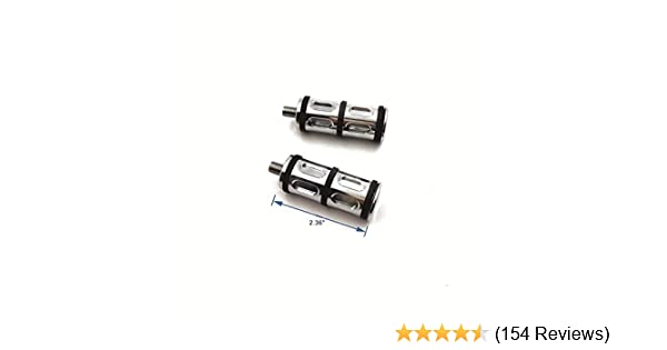 2 PCs Chrome Billet Shifter Peg For Harley Davidson all models Seventy Two XL1200V// Forty Eight XL1200XSoftail Deluxe FLSTN// Breakout FXSB// CVO Pro Street Breakout FXSE