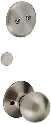 Schlage F94-ORB Orbit Knob Dummy Interior Pack from The F-Series, Satin Nickel