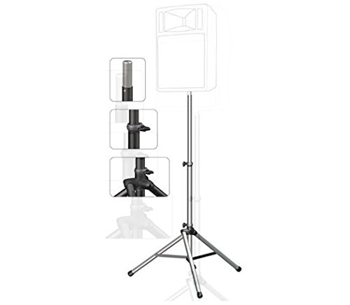 Ultimate Support Systems 5 Foot - 9 Foot 2 Inch Black Speaker Stand TS-88B with Bag BAG99