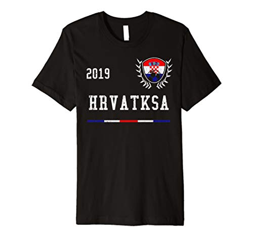- Croatia Football Jersey 2019 Croatian Soccer T-shirt