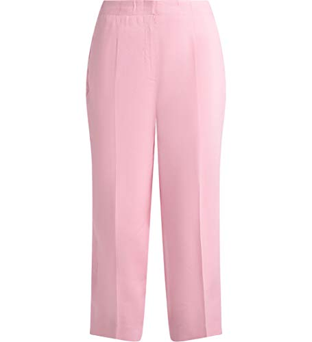 Michael Kors Women's Pantalone in Lino Rosa 40(IT)-S(US) Pink ()