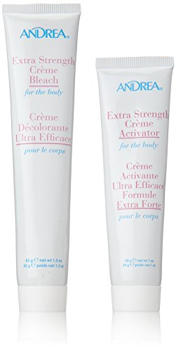 Hair Bleach Cream - Andrea Extra Strength Cream Bleach for The Body