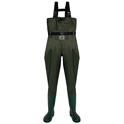 Fly Fishing Hero Chest Waders for Men with Boots Hunting Waders Fishing Boots Neoprene Waders for Women Free Hangers Included