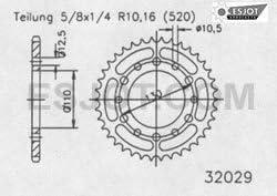 ab 1991 REGINA O-Ring Kettensatz Kawasaki Zephyr 550