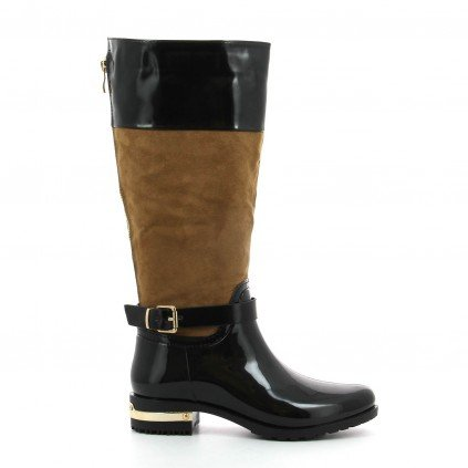 Ideal Shoes, Damen Stiefel & Stiefeletten Braun - braun