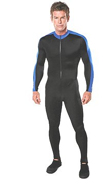 Henderson UV Sheild Unisex Dive Lycra Skin Body Suit Scuba Dive Diving Diver Surf Surfing Surfer Snorkel Snorkeling Wetsuit Wet Suit Swim Swimming Swimmer Rash Guard Authorized Dealer Full Warranty, Men's Xl or Wms 3xl by Henderson