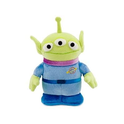 Disney Little Green Alien Mini Bean Bag Plush: Toys & Games
