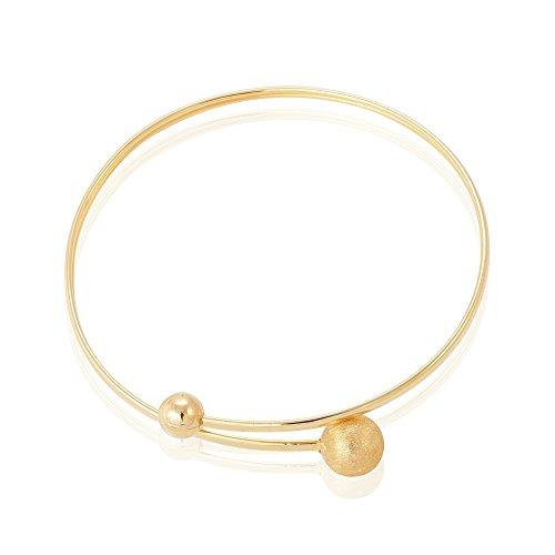 HISTOIRE D'OR - Bracelet Jonc Or - Femme - Or jaune 375/1000