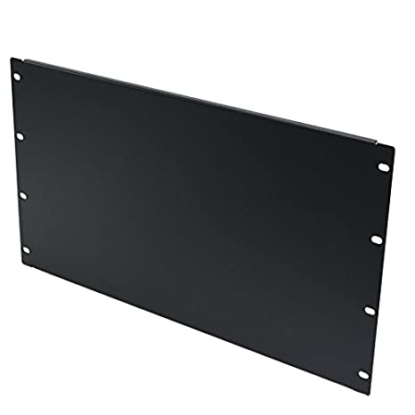 Navepoint Blank Rack Mount Panel Spacer For 19 Inch Server Network Enclosure Or Cabinet