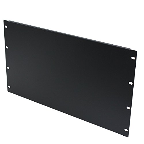 NavePoint 6U Blank Rack Mount Panel Spacer For 19-Inch Server Network Rack Enclosure Or Cabinet ()