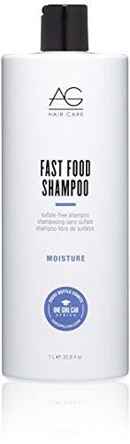 (AG Hair Fast Food Sulfate Free Shampoo, 33.80 Ounce )