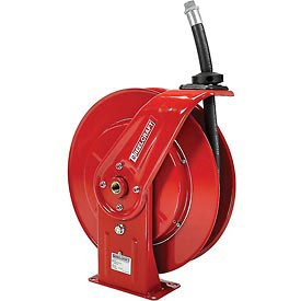 Reelcraft F7925 OLP Spring Retractable Fuel Hose Reel, 3/4