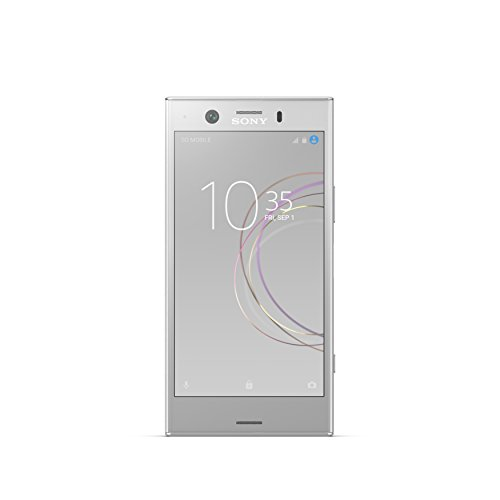 "Sony Xperia XZ1 Compact - Factory Unlocked Phone - 4.6"" Screen - 32GB - White Silver (U.S. Warranty)"