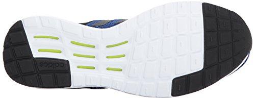Adidas Neo Heren Cf Super Racer Hardloopschoenen Zwart / Zwart / Collegiaal Royal