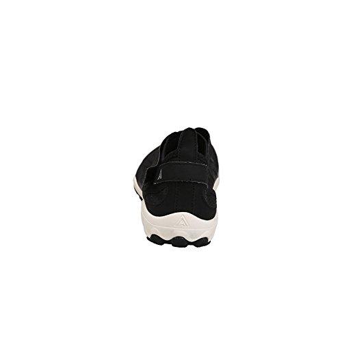 Humtto Unisexe Athlétique Chaussures Deau Homme Et Femme Nagent Marchant Lac Plage Chaussures De Canotage 1329 Noir / Blanc