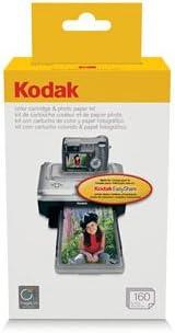 Kodak PH-160 EasyShare Printer Dock Color Cartridge & Photo Paper Refill Kit