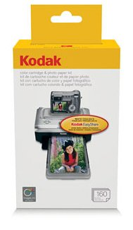 Kodak PH-160 EasyShare Printer Dock Color Cartridge & Photo Paper Refill Kit by Kodak