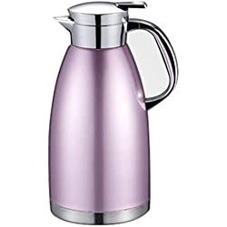 304 Stainless Steel Coffee Pot 2.3l Vacuum Insulation Pot Kettle Double Teapot Home