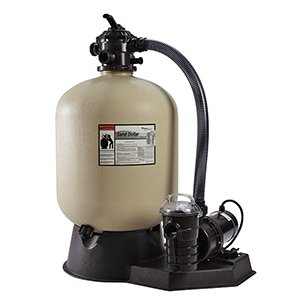 Pentair PNSD0035DE2160 Sand Dollar Aboveground Filter System with Blow-Molded Tank, 1 HP by Pentair