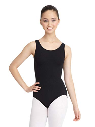 Capezio Women's Tank Leotard,Black,Medium (Black Leotard Gymnastics)