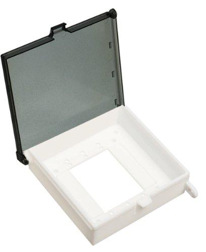Arlington DBK55C-1 Weatherproof, Non-Metallic Keypad and Thermostat Cover, 5
