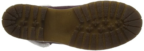 Women's Uk Red 262 549 bordeaux Tamaris Combat Boots Black 5 dTRTqYw4