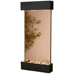 Adagio WCS1741 Whispering Creek - Bronze Mirror Wall Fountain