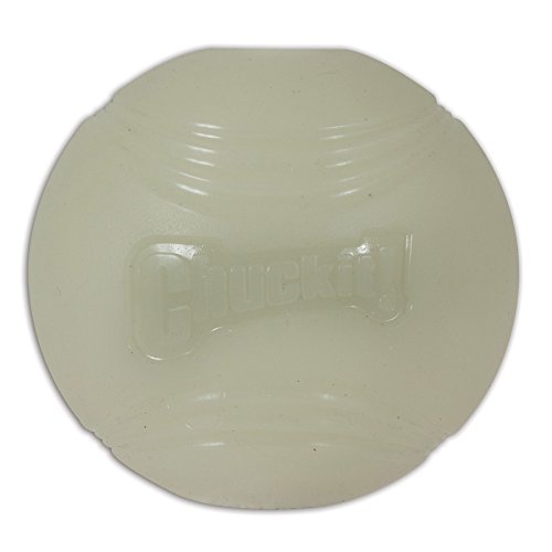 Chuckit! Medium Max Glow Ball 2.5-Inch, 1-Pack