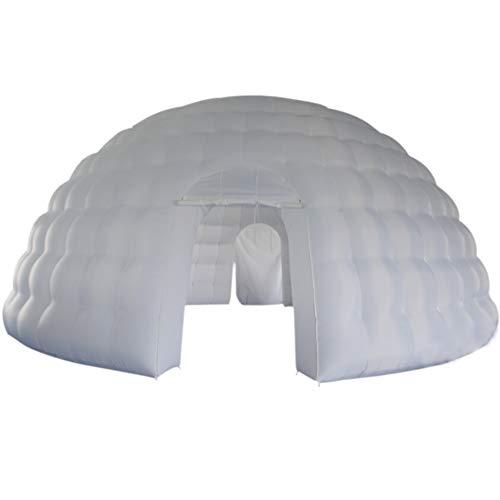 Hinchable Marquee hinchable LED Cube tienda de campaña hinchable Booth 16,4x 16,4x 11,5pies con LED de pared arandela...