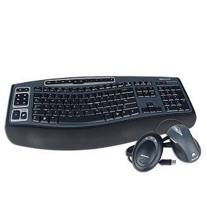 Microsoft Wireless Laser Desktop 5000 Keyboard & ()