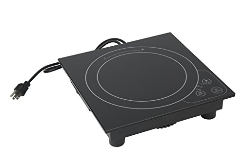 """Image of Bon Chef 12086 Portable Induction Range, 120V, 650W, 5 amp, 11-7/8"""" Length x 11-7/8"""" Width x 2-7/8"""" Height"""