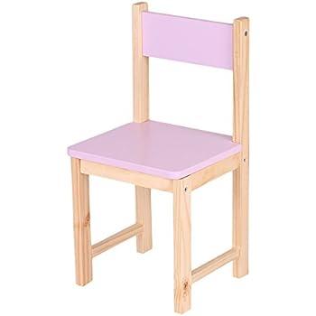 Amazon Com Ikayaa Wooden Kids Chair Stacking School Chair