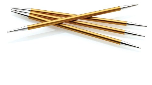 Double Point Knitting Needle, US 3, Stiletto Point, Set of 5 Needles
