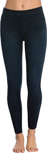 SPANX Women's Jean-ish Ankle Leggings Twilight Rinse Medium - Back Jeans No Pocket