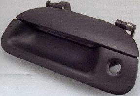 99-02 FORD F350 SUPER DUTY PICKUP f-350 TAILGATE HANDLE TRUCK, w/Tailgate Lock Hole (1999 99 2000 00 2001 01 2002 02) F580702 (Super Duty Pickup Tailgate)