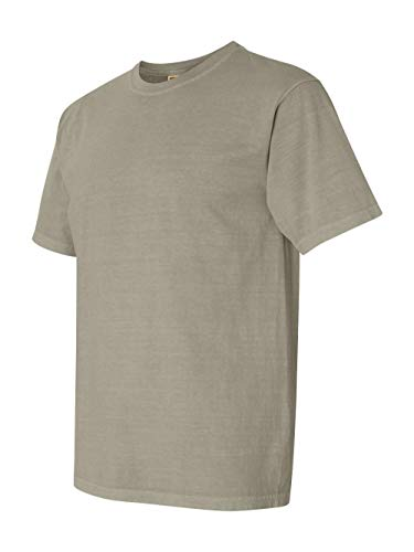(Comfort Colors Pigment-Dyed Short Sleeve Shirt Small Sandstone)