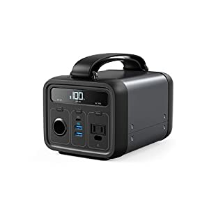 Anker Powerhouse 200, 213Wh/57600mAh Portable Rechargeable Generator Clean & Silent 110V AC Outlet/USB-C Power Delivery…