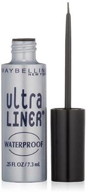 Maybelline New York Ultra Liner Waterproof Liquid Eyeliner, 0.25 Fluid Ounce