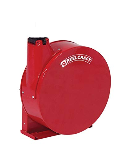 Air//Water Hose Included 1//2 x 25/' 1//2 x 25 Reelcraft A5825 ELP Premium Duty Spring Retractable Hose Reel 300 Psi