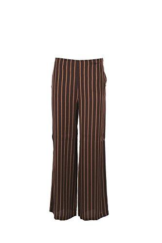 Pantalone Donna Pennyblack 42 Marrone Lanolina Primavera Estate 2017