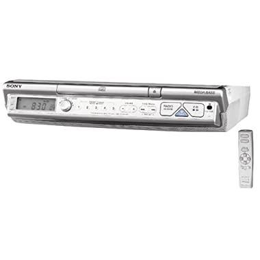 Sony ICF-CD543RM AM/FM/TV/Weather Clock Radio/CD Player