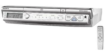 Amazon.com: Sony ICF-CD543RM AM/FM/TV/Weather Clock Radio/CD Player ...