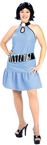 Morris Costumes Women's Betty Rubble Gt Costume, 16-20 (Betty Rubble Costume)