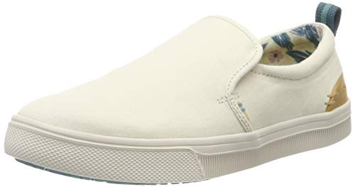 - TOMS Women's TRVL LITE Slip-On Birch Canvas 8 B US
