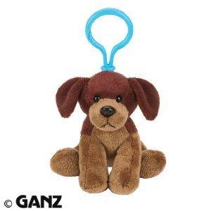 Klip Clip Kinz (Webkinz Plush Kinz Klip Brown Dog)