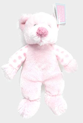 (Plush Pink Bear Rattle Russ Baby)